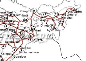 India Road Maps India Online Road Maps Indian Road Map Road Map Of India